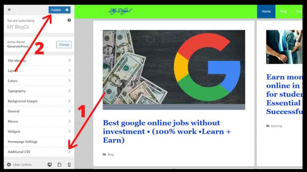 floating ads bottom wordpress & blogger without plugin